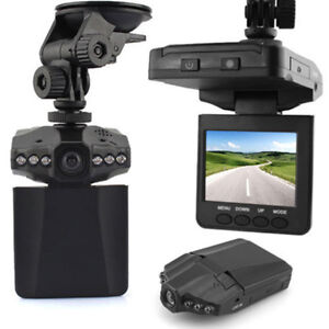 HD IR Night Vision Car DVR Vehicle Camera Video Recorder Dash Cam SD Card LO