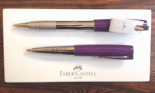 Faber Castell LOOM Piano Pflaume Kugelschreiber Tintenroller