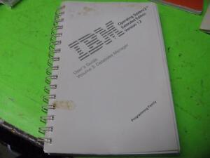 IBM-Betriebssystem-2-Extended-Edition-Version-1-2-Volume-3-Referenzhandbuch