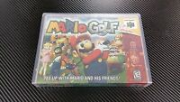 Mario Golf Nintendo 64 N64 Case With Free Artwork No Game