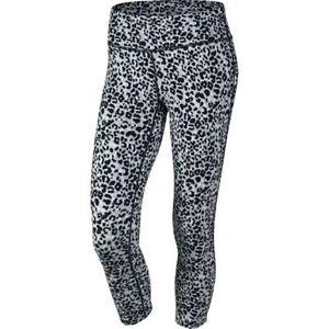 6b3e154093690 Details about Nike 839969 Women's $85 Lotus Epic Run Printed Crops Pants  Capris Tights 686049