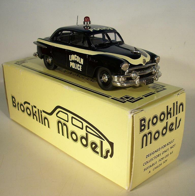 BROOKLIN MODELS brk51a 1951 Ford Fordor Police LIMITED EDITION IN BOX  7143
