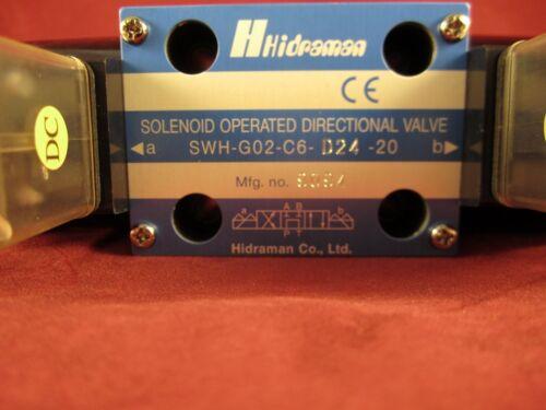 Hydraulic Hidraman Solenoid Valve SWH-G02-C6-D24-20 Northman
