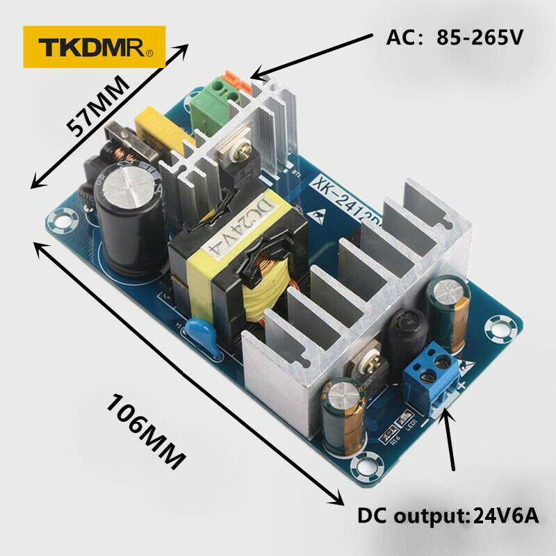 Radio CCTV Computer Project,LED Lights Diyeeni Switch Power Supply DC Universal Regulated Switching Power Supply Convert AC 110V//220V to DC 24V 15A 360W for 3D Printer