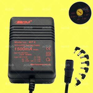 1 5a multi voltage 4 5v 5v 6v 7 5v 9v 10 5v 12v ac dc for Lampen 0 36w 6v