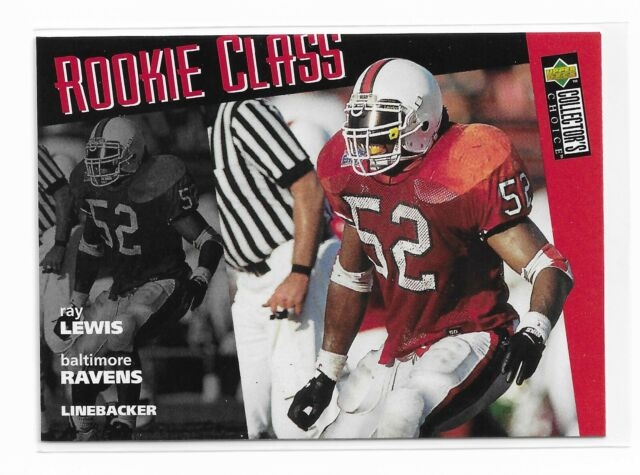 1996 UD Collector's Choice #20 Ray Lewis Rookie Class RC | eBay