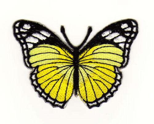 Ae45 mariposa contactarlo Butterfly Patch aplicación perchas imagen de 7,5 x 5,0 cm