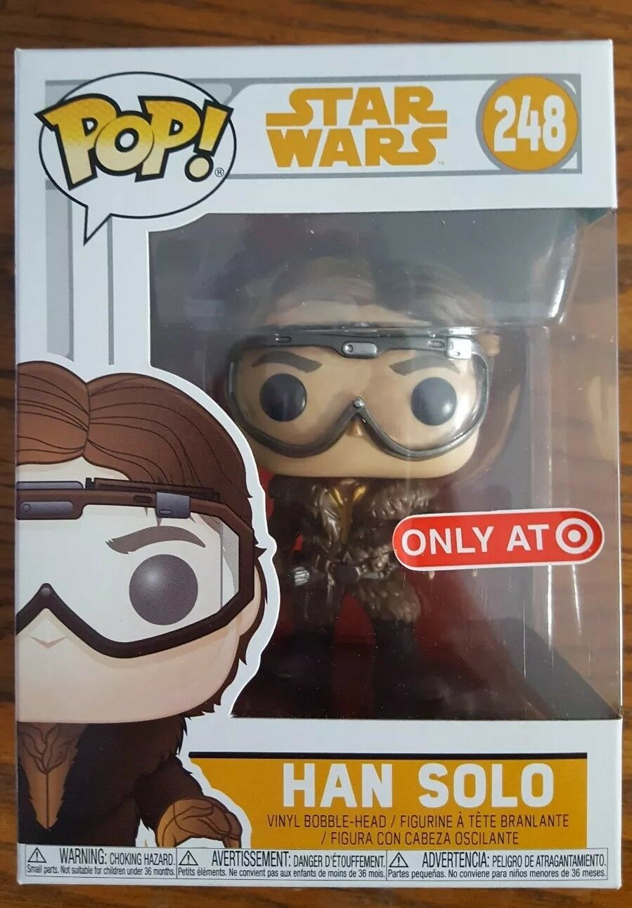 Funko Pop  Star Wars Han Solo  248 Target Exclusive