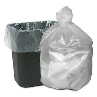 Good 'n Tuff High Density Waste Can Liners 7-10gal 6mic 24 X 23 Natural 1000 on Sale