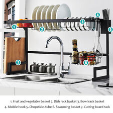 335255 Stainless Steel Dish Drying Rack Stand Household Storage Tabl