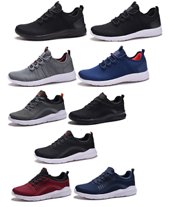 New-Mens-Running-Athletic-Shoes-Casual-Walking-Gym-Light-Weight-Sneakers