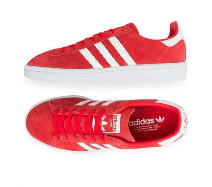 Adidas Originals Campus W (DB1018) Casual Sneakers Red shoes for Women