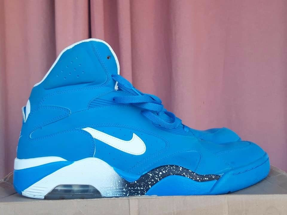 Nike Air Force 180 537330 400 MID - Blau sz 13US 47,5FR 12UK