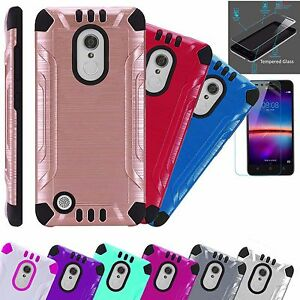 low priced 46a01 00aa2 Details about For LG Stylo 3 / LG Stylo 3 Plus 2017 Phone Case  Cover+TEMPERED GLASS Combat
