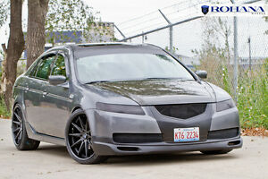 acura tlx black with black rims. image is loading 20x93520x1040rohanarc105x114black acura tlx black with rims