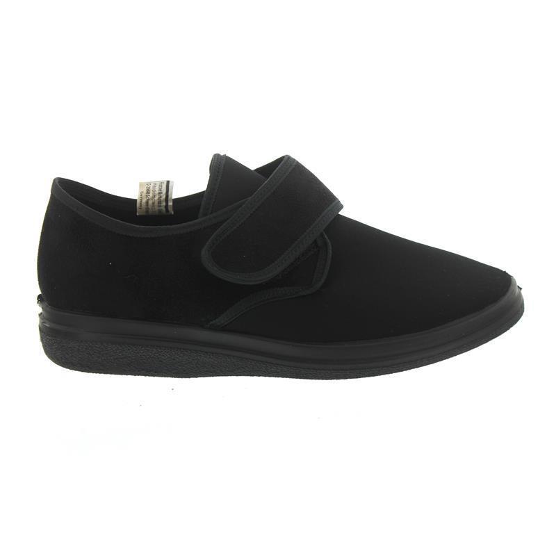 Fischer velcro-casa zapato, terciopelo con elástico, frojoteefutter, wechselfußb., ancho K