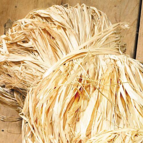 XL vrac 300 g Sac De naturelles séchées Raphia Fibre//ruban//String//herbe//fibre