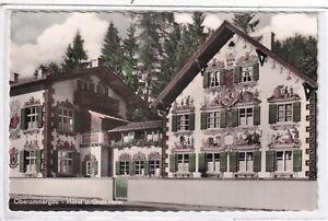 Ansichtskarte Oberammergau - Hänsl und Gretl-Heim/Hänsel und Gretel-Heim - s/w
