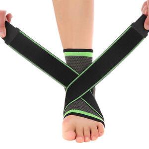 Sport Fußbandage Sprunggelenk Bandage Knöchelbandage Joggen Laufen Schutz