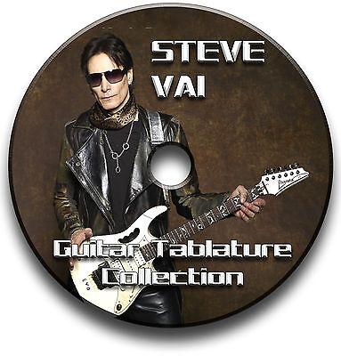 steve vai rock guitar tab tablature song book software cd best of ebay. Black Bedroom Furniture Sets. Home Design Ideas