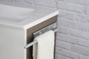 handtuchhalter 1 armig ausziehbar f r badm bel k che alu silber matt ebay. Black Bedroom Furniture Sets. Home Design Ideas