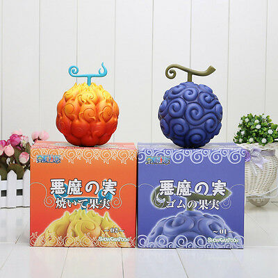 One Piece Devil Fruit Ace Flame-Flame Fruit OR Luffy Gum-Gum Fruit For One Fruit