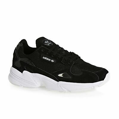 Adidas Originals Falcon Linea Donna Scarpe Calzature-nero Bianco Tutte Le Taglie-