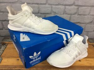 online store a153f 09f74 Details about ADIDAS LADIES WHITE EQT SUPPORT ADV TRAINERS VARIOUS SIZES  CHILDRENS KIDS
