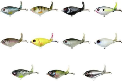 River2Sea Whopper Plopper 75 Topwater Prop Lure  3 Bass & Redfish Fishing Lure