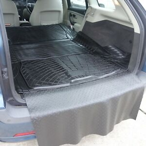 Modular-rubber-boot-liner-load-mat-bumper-protector-Saab-9-3-Sportwagon-estate