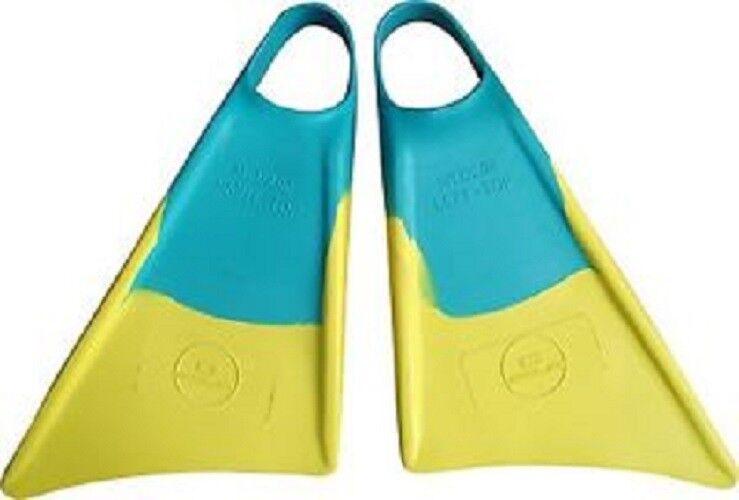 Sola Pro Bodyboard Fin - Green Yellow - ALl Sizes  TD006