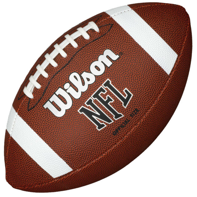 Wilson NFL Official Size American Football  184ba18dcaf3c