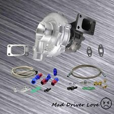 UNIVERSAL TURBO CHARGER T3/T4 TO4E .63 A/R +OIL FEED RETURN 350+HP CIVIC INTEGRA