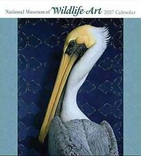 National Museum of Wildlife Art 2017 Wall Calendar 9780764974519