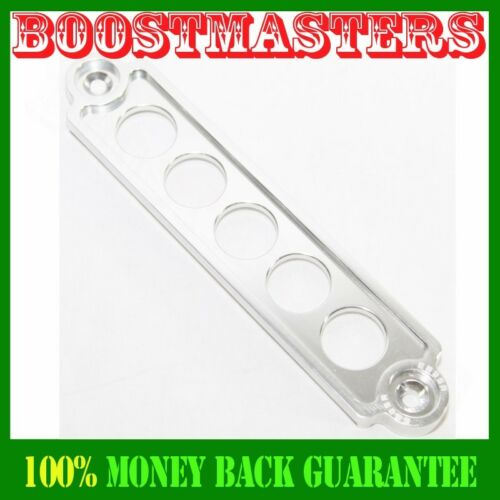 Battery Tie Down SILVER FOR 02-05 Honda Civic Si Hatchback 3D