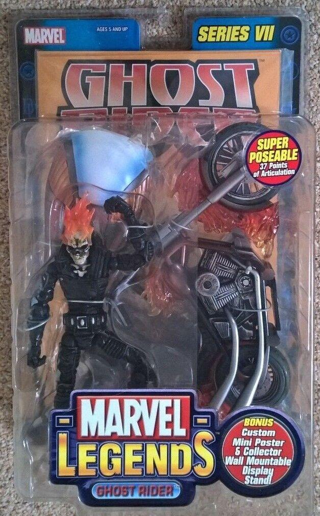 Marvel Legends Series 7 Ghost Rider Figure RARE