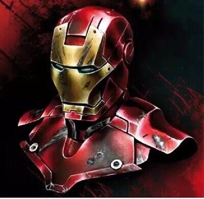 1//10 Resin Figure Model Kit Bust SuperHero Hellboy Smokes Unassambled Unpainted