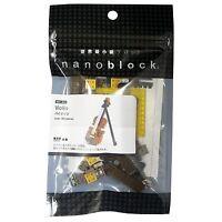 Violin Nanoblock Miniature Building Blocks Sealed Nbc 018