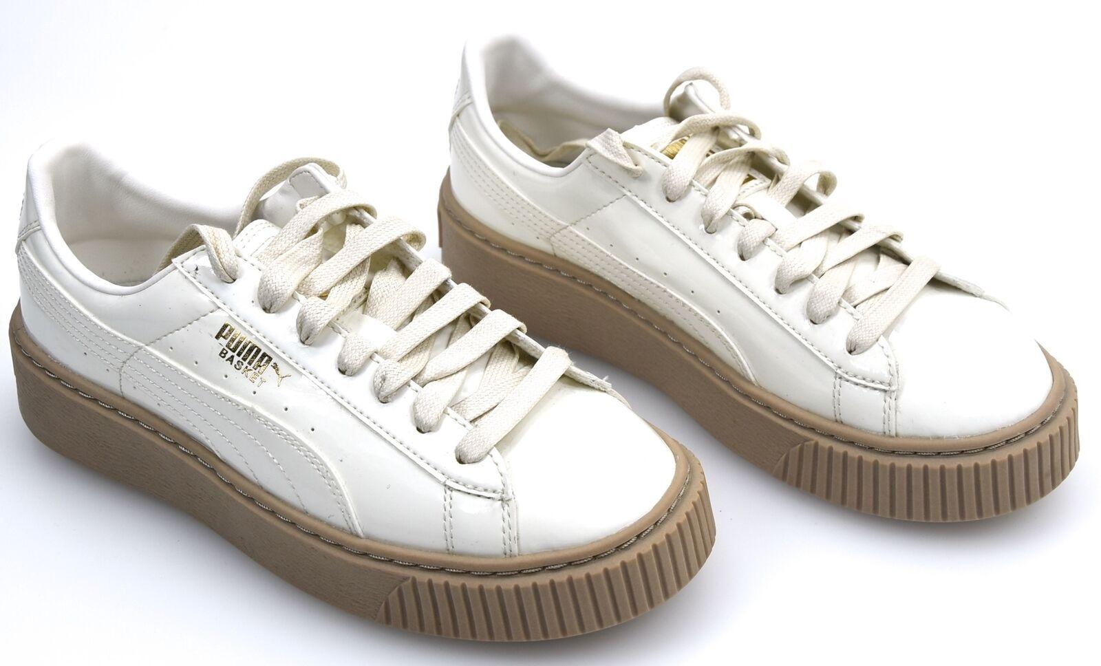 Puma zapatillas señora zapatos casual zapatillas 363314 Basket Platform Platform Platform patente wn 's  alto descuento