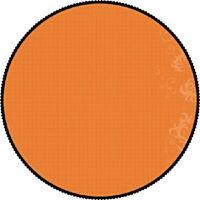 12 Scrapbook Paper 10p Halloween Trick Or Treat Die Cut Orange Black Circle