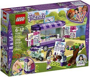 LEGO-Friends-Rare-Emma-s-Art-Stand-41332-New-amp-Sealed