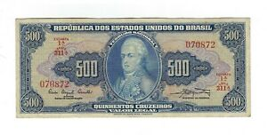 500-Cruzeiros-Bresil-1961-c046-p-172a-Brazil-billet