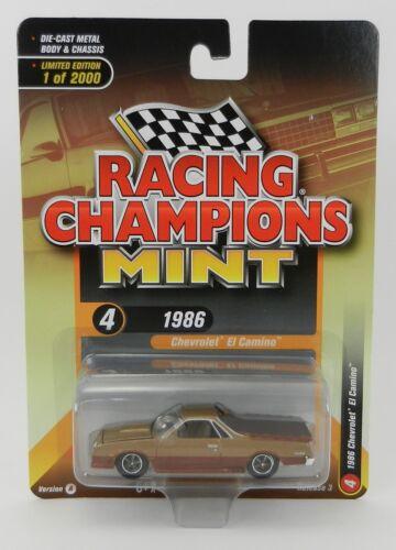 2019 RC 1:64  RACING CHAMPIONS MINT 3A = GOLD 1986 Chevrolet EL CAMINO NIP