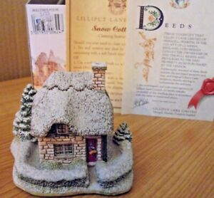 LILLIPUT-LANE-HOLLYTREE-HOUSE-BUCKLAND-OXFORDSHIRE-WITH-BOX-amp-DEEDS
