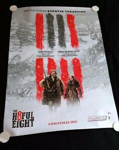 HATEFUL-EIGHT-8-Original-DS-27x40-034-Movie-Poster-Signed-by-Bruce-Dern-w-COA