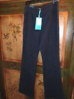 Soft Surroundings Lycra Triple -s Metro Boot Cut Jeans Dark Blue Medium Tall