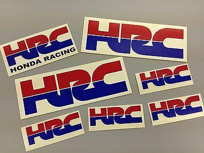 7 Of HRC Honda Racing Stickers Cbr Fireblade New