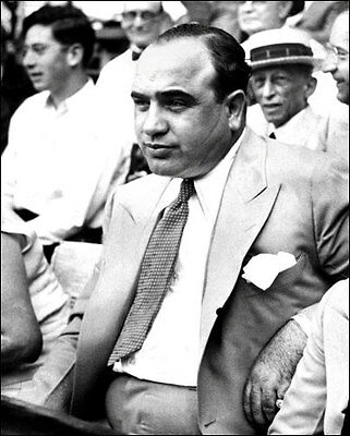 Chicago Mafia Mobster  Buy Any 2 Get 1 FREE 1931 Scarface Al Capone Photo 8X10