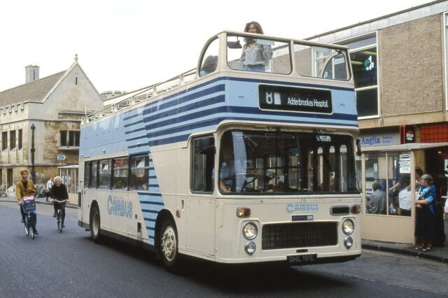 Cambus No.70 Cambridge 1990 Bus Photo