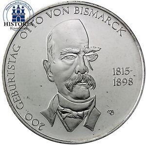 Deutschland-10-Euro-Gedenkmuenze-2015-bfr-Otto-von-Bismarck-in-Muenzkapsel